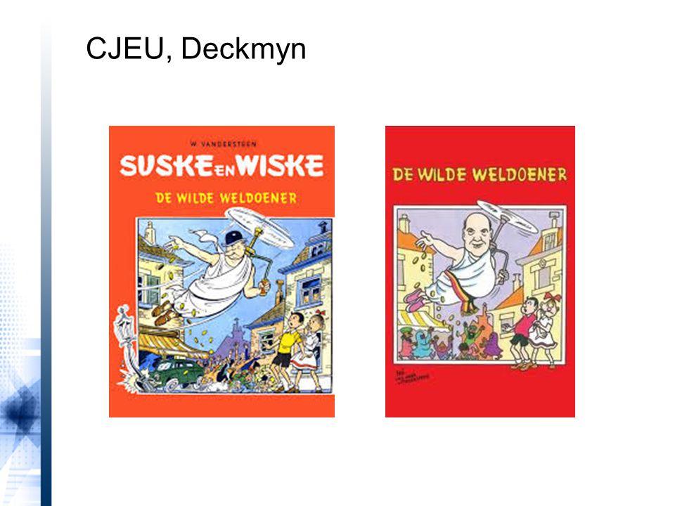 CJEU, Deckmyn