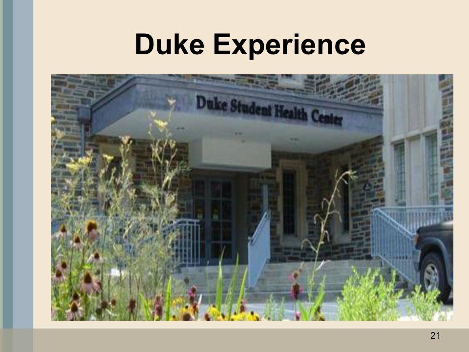 Duke Experience 21