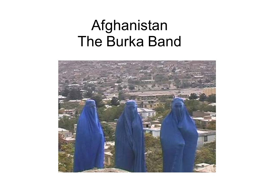 Afghanistan The Burka Band