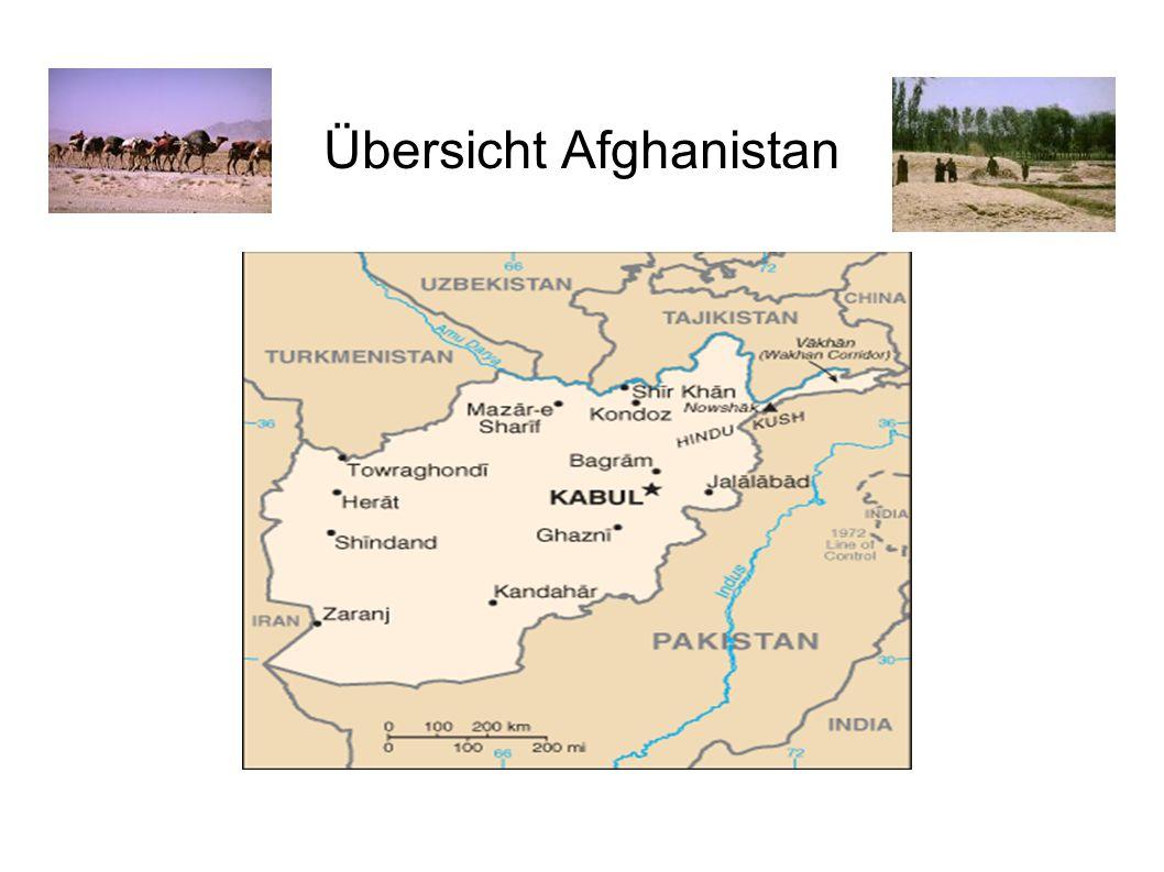 Übersicht Afghanistan