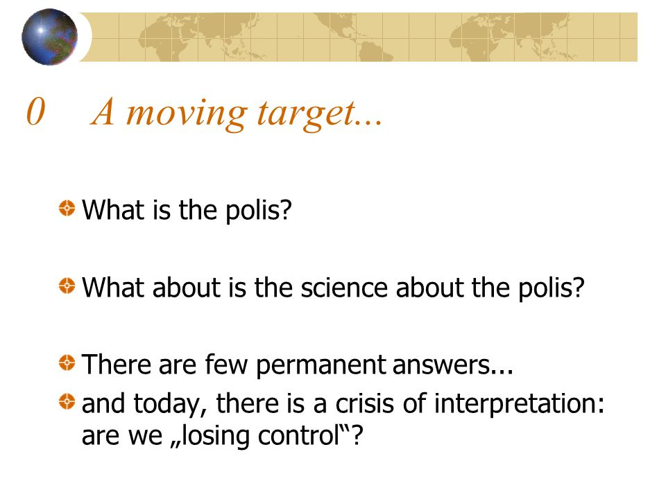 0.1Globalization as a political project.No.