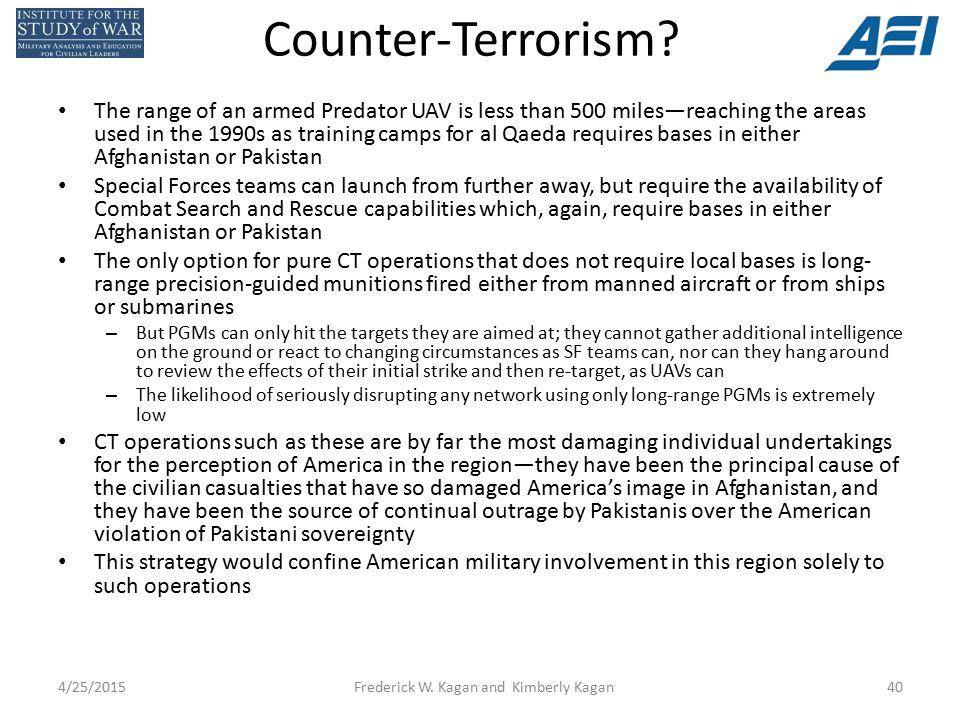 Counter-Terrorism.