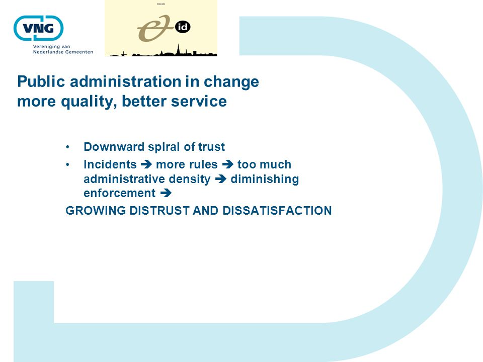 Public administration in change more quality, better service CORE BUSINESS OF (LOCAL) GOVERNMENT .