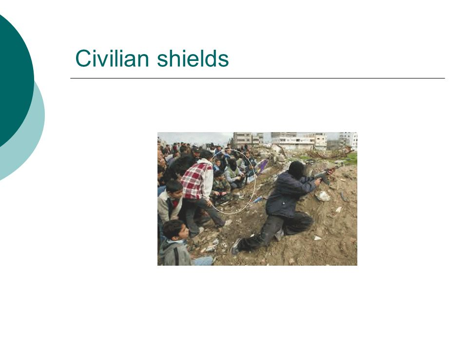 Civilian shields