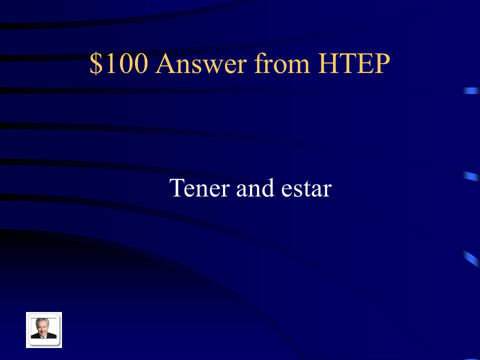 $100 Question from HTEP Name the two ultraviolets