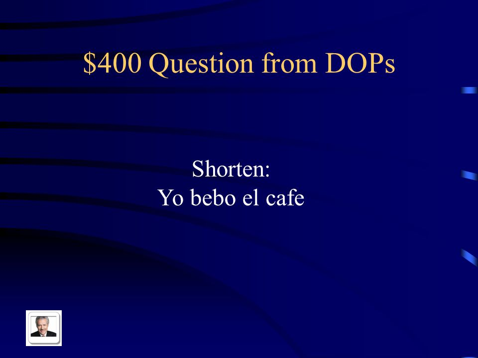 $300 Answer from DOPs las