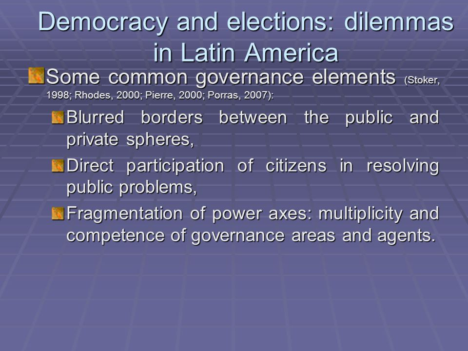 Factors associated with voter turnout  Contextual factors:  Perceptions of political contest effectiveness  Competitivity and importance of the electoral event  Nature of party system  Campaign spending  Voting traditions in different communities  Strategic vote  Time between elections  Weather  Nature of elections (concurrent or not)