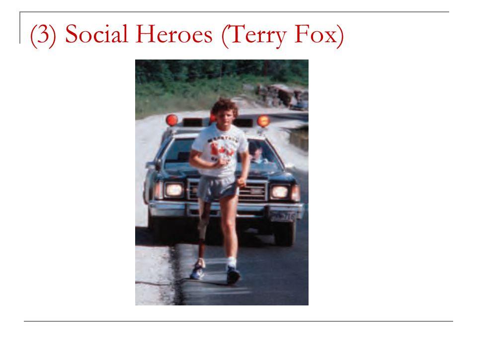 (3) Social Heroes (Terry Fox)