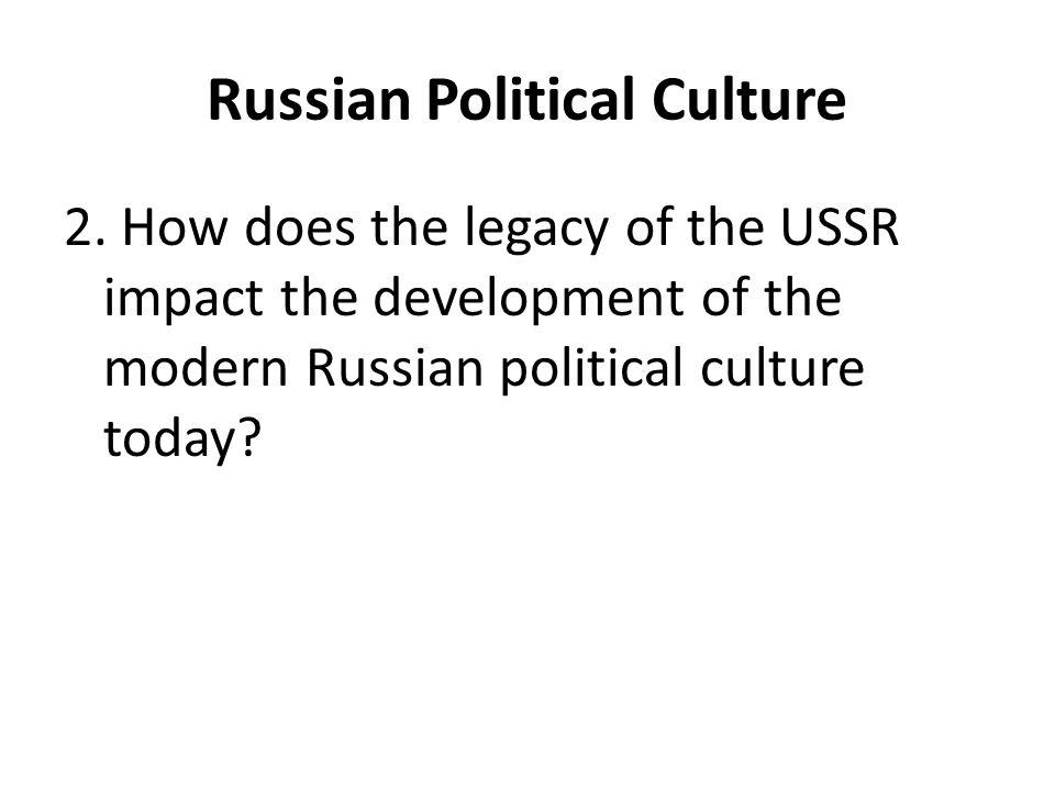 Russian Political Culture 2.