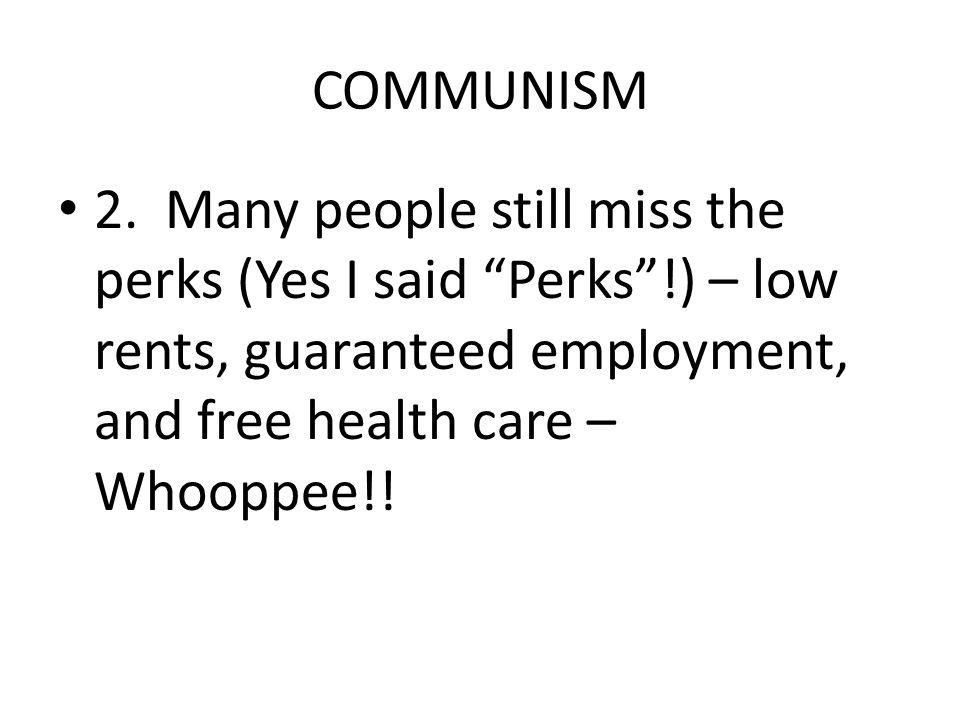COMMUNISM 2.
