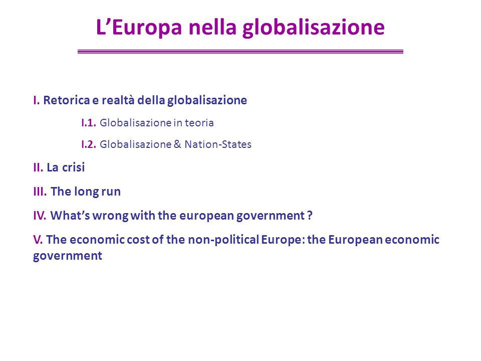 ©Jean-Paul Fitoussi/3 I.Retorica e realtà della globalisazione I.1.