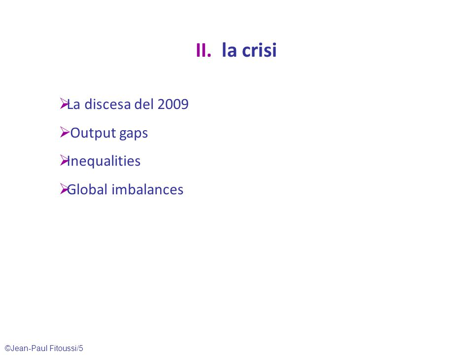©Jean-Paul Fitoussi/6 Growth's loss Source: Datastream.