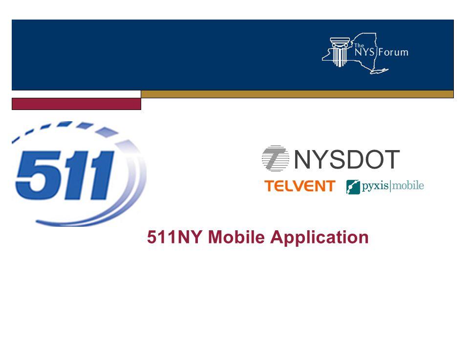 511NY Mobile Application NYSDOT