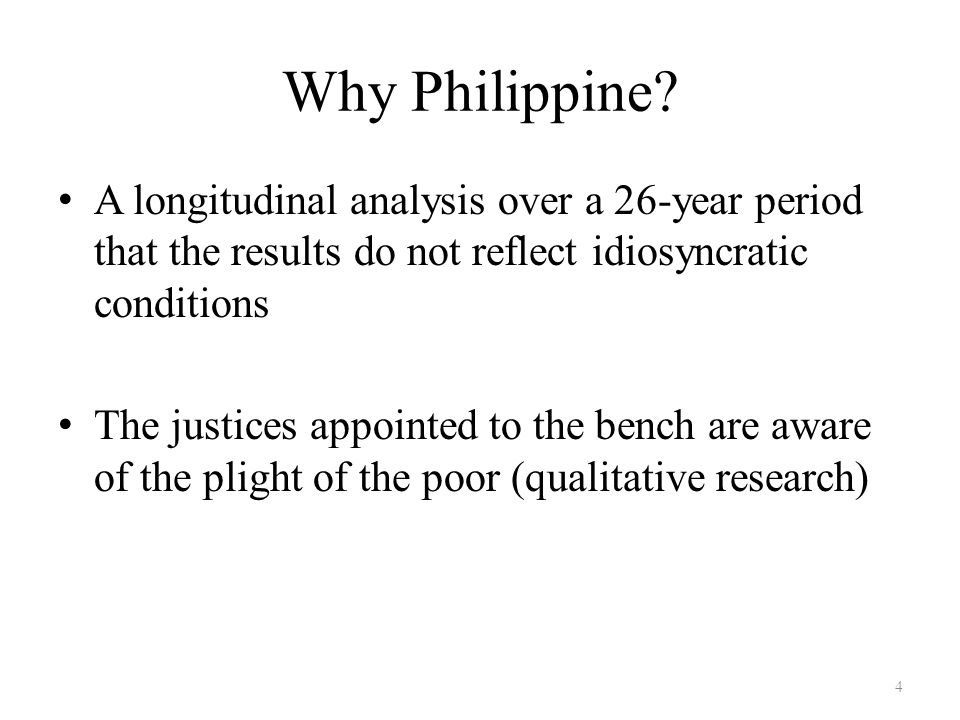 Why Philippine.