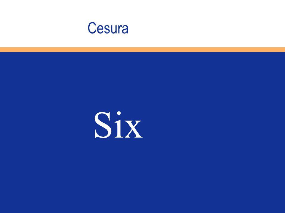 Cesura Six