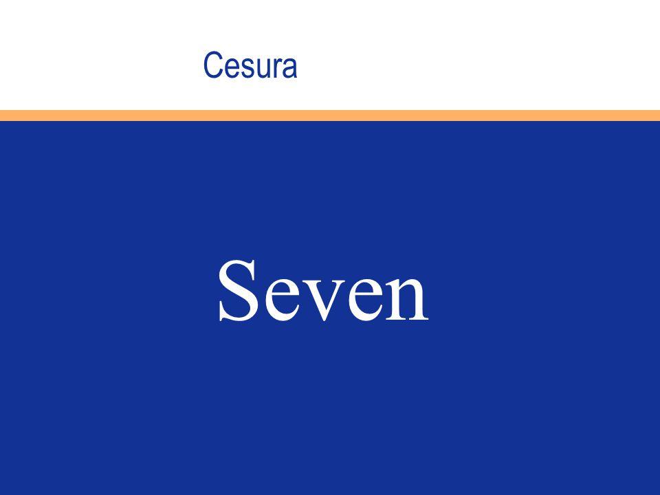 Cesura Seven