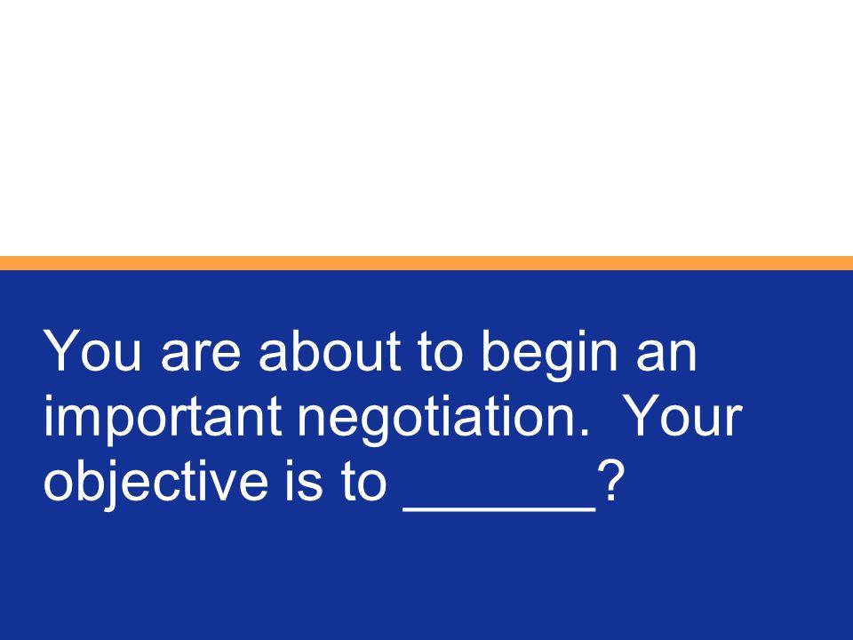 Traditional negotiations continuum: Competitive Collaborative Cooperative