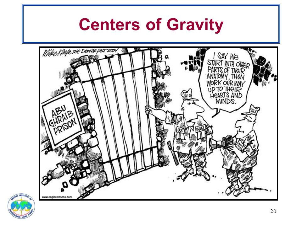 Centers of Gravity 20