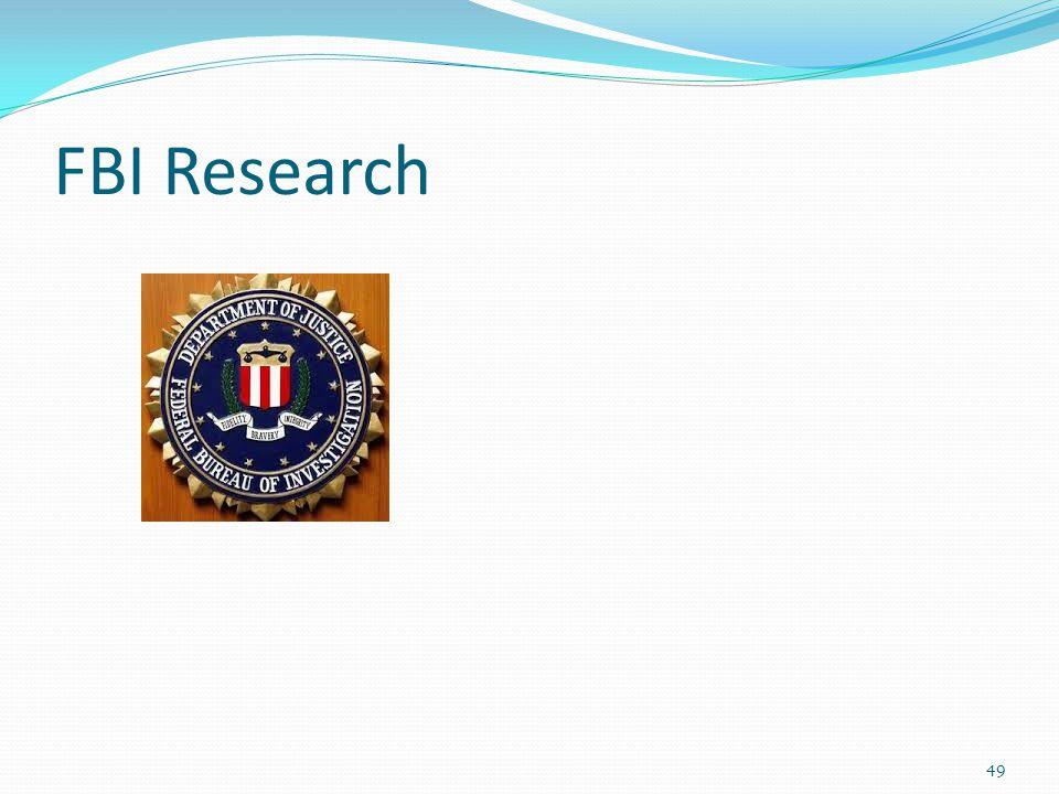 FBI Research 49