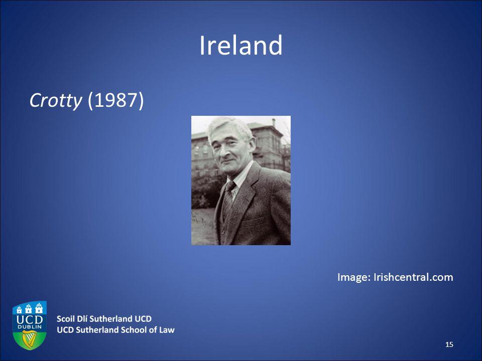 Ireland Crotty (1987) Image: Irishcentral.com 15