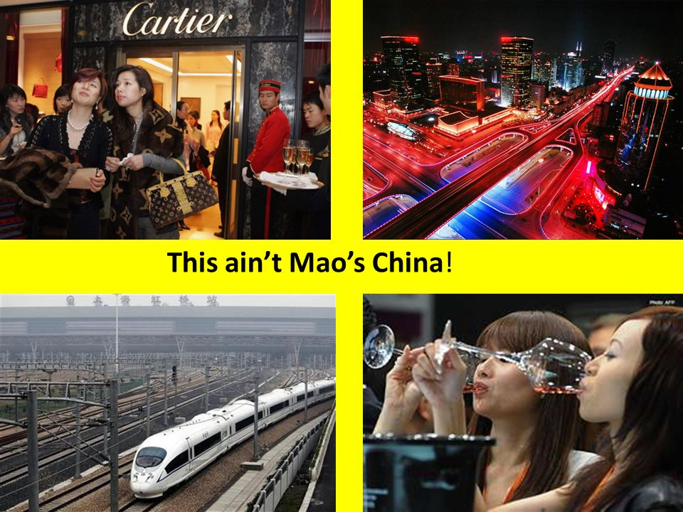 This ain't Mao's China!