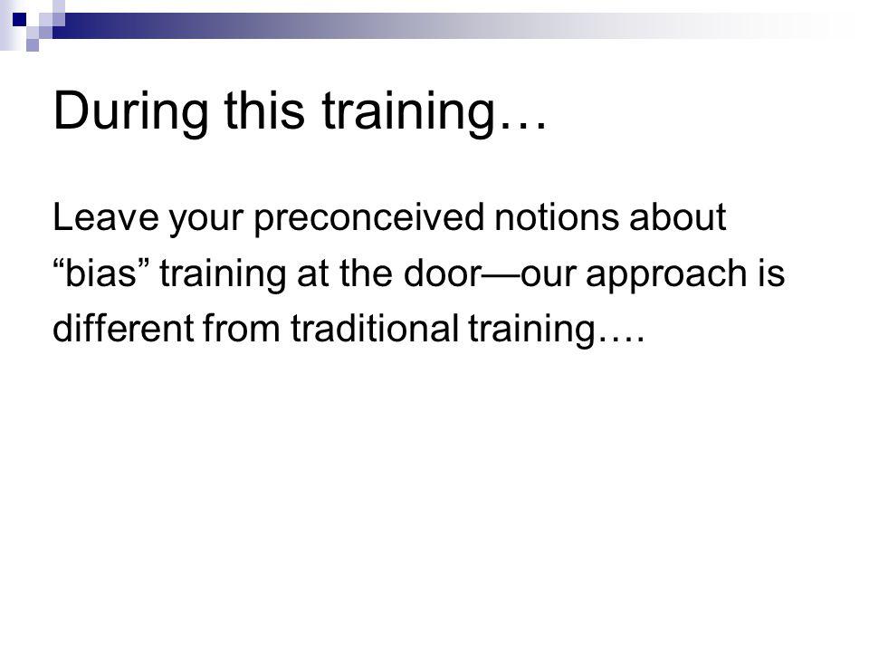 Skill #2: Avoid Profiling by Proxy