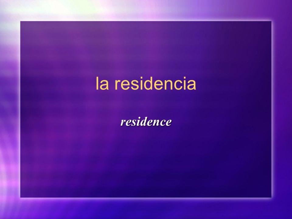 la residencia residence