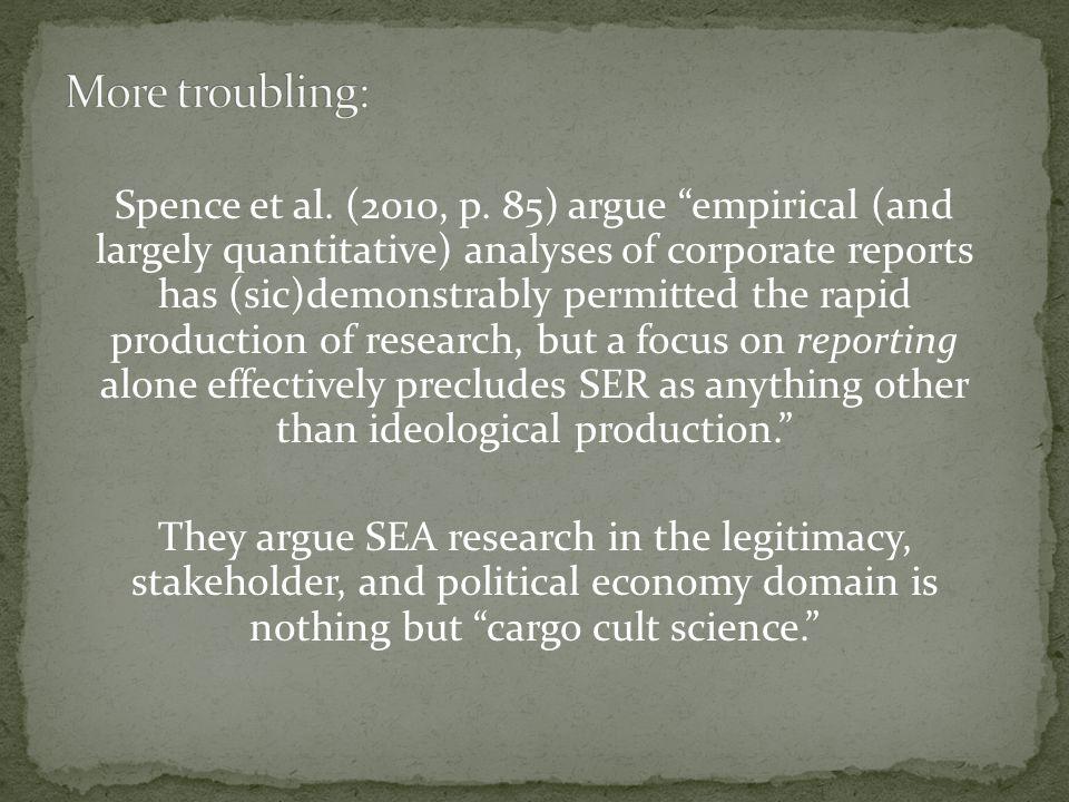 Spence et al. (2010, p.
