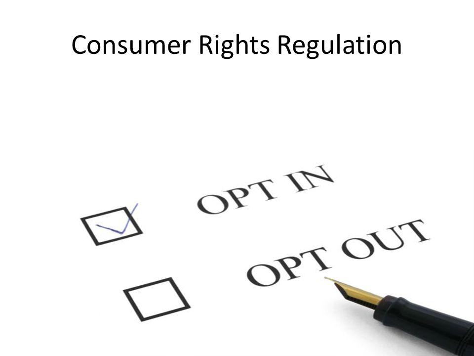 Consumer Rights Regulation