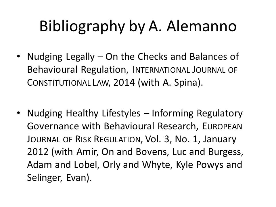 Bibliography by A.