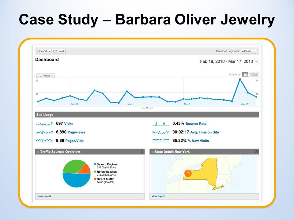 Case Study – Barbara Oliver Jewelry