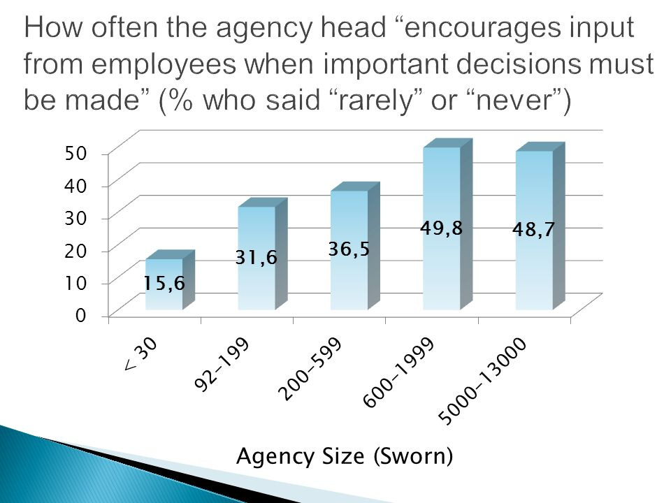 Agency Size (Sworn)