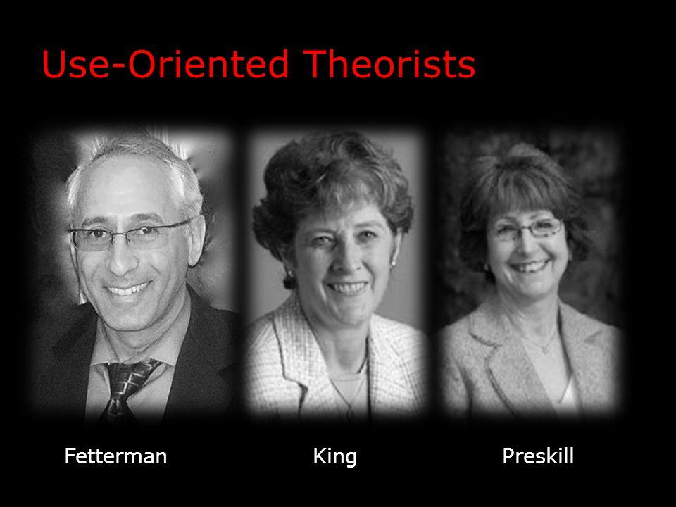 Use-Oriented Theorists FettermanKingPreskill