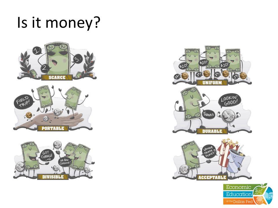 Is it money