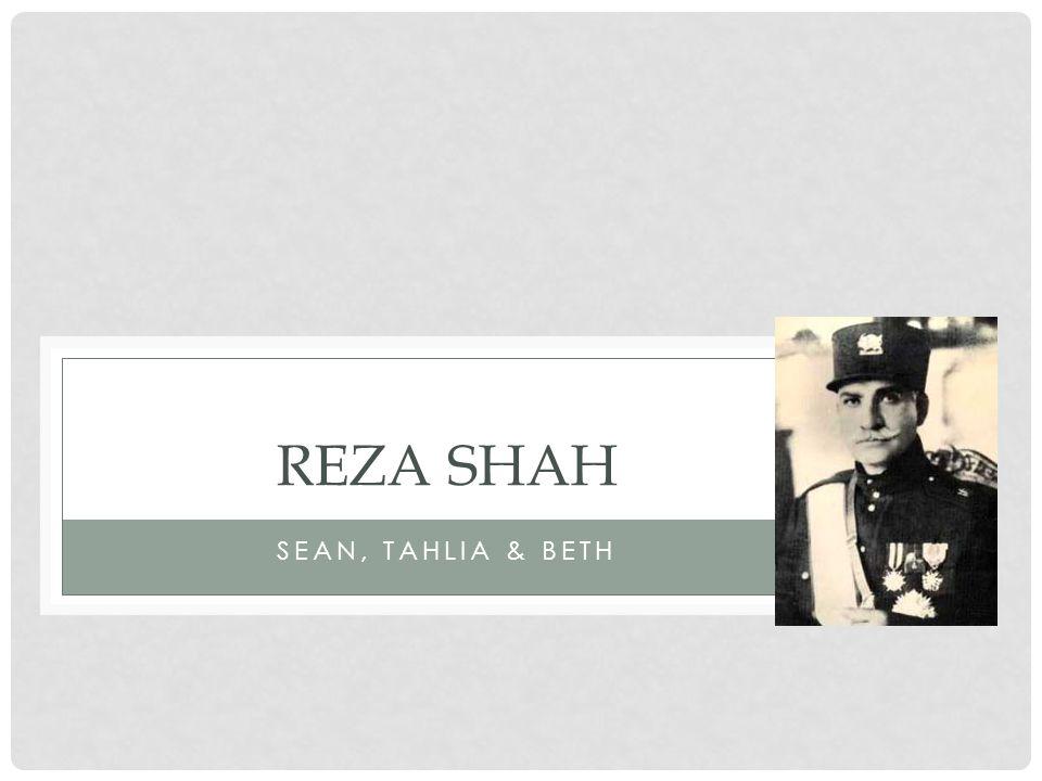 SEAN, TAHLIA & BETH REZA SHAH