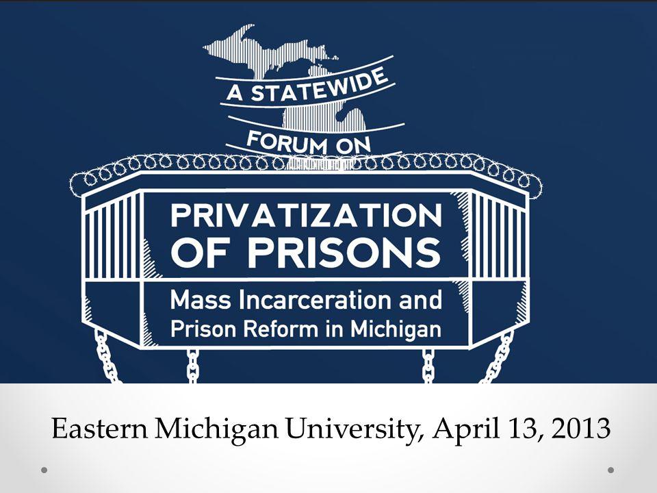 Eastern Michigan University, April 13, 2013