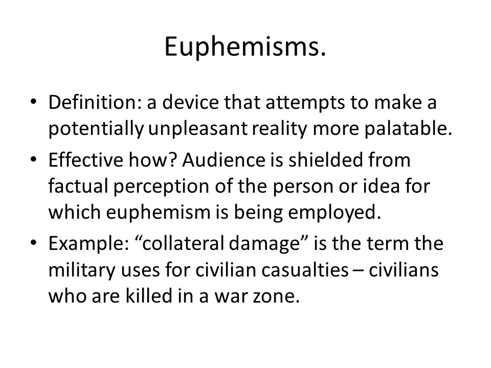 Euphemism example. High Fructose Corn Syrup ad, 2008.