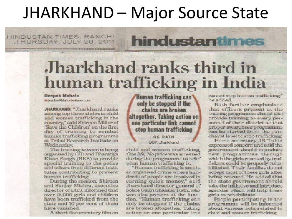JHARKHAND – Major Source State