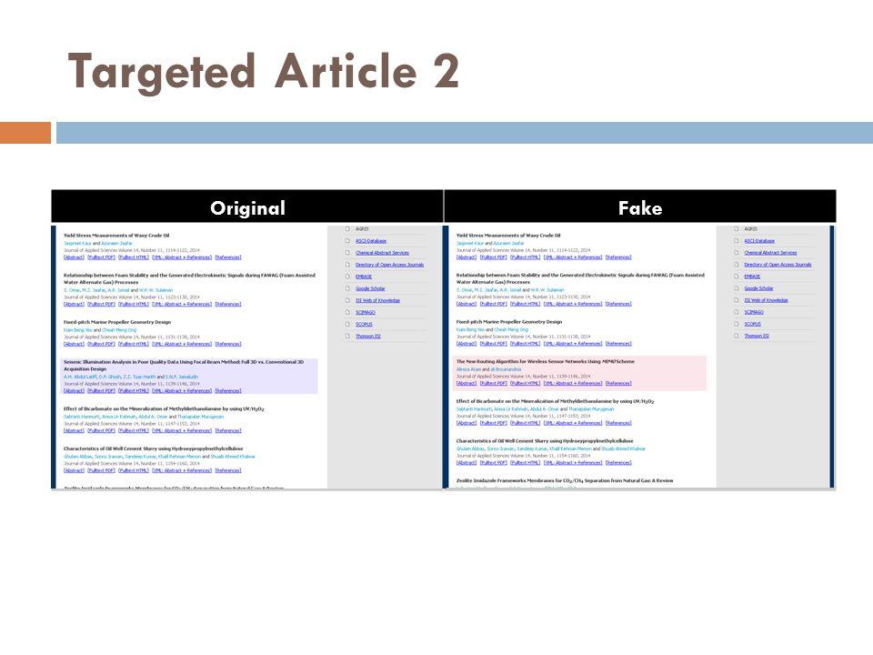 Targeted Article 2 OriginalFake