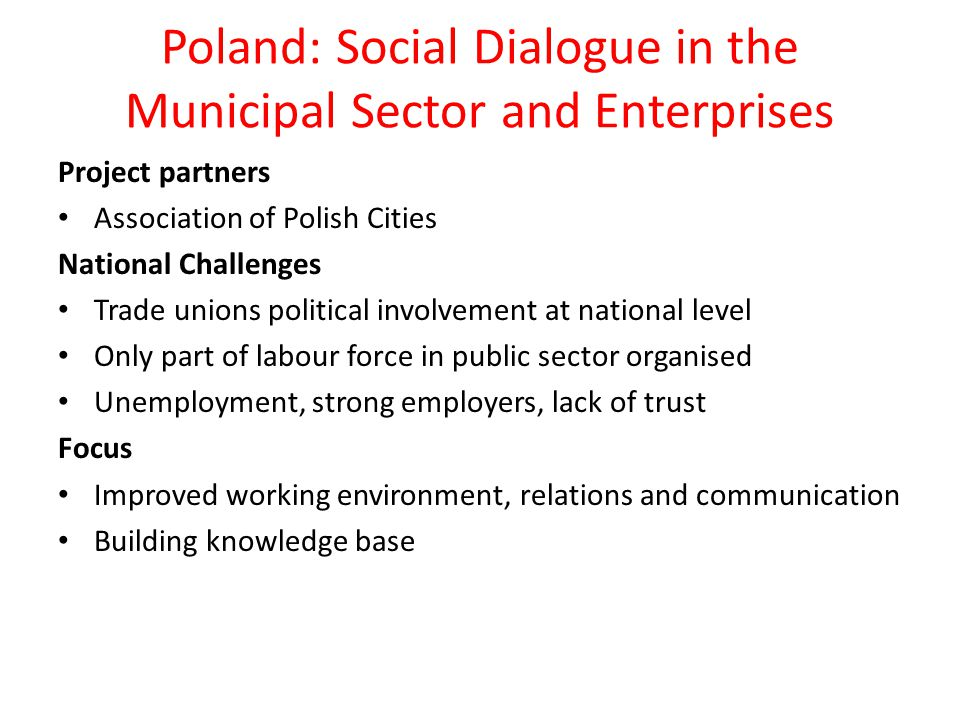 Methods Organising national competitions, a bottom-up approach, promoting and identifying local projects Results Increased knowledge and awareness on SD in municipalities Bottom-up approach - a strategy that can inspire nationally In a decentralized system; local problems have to be solved locally Methods of involvement and tools for building motivation among partner