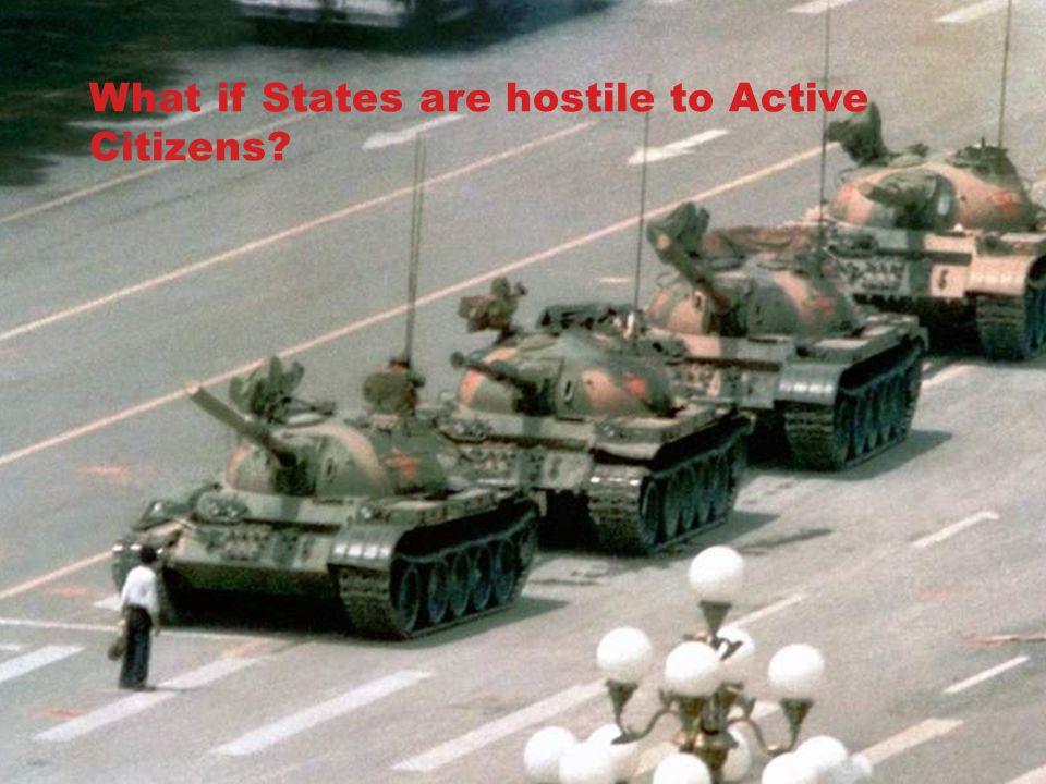 What if States are hostile to Active Citizens?