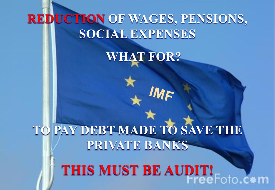 REDUCTION OF WAGES, PENSIONS, SOCIAL EXPENSES WHAT FOR.