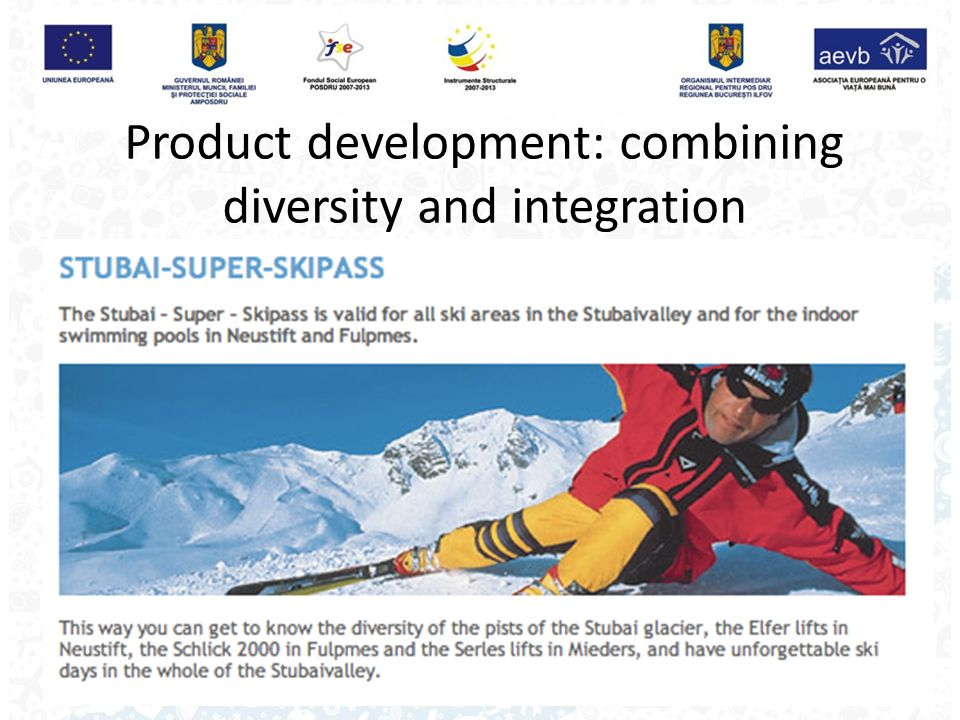 Product development: combining diversity and integration