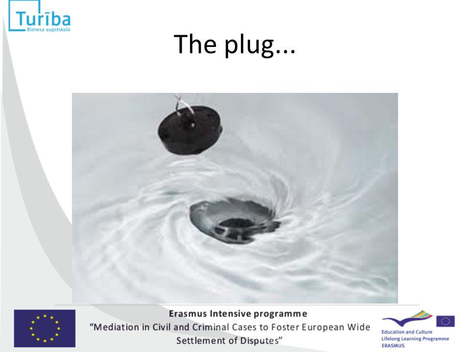 The plug...