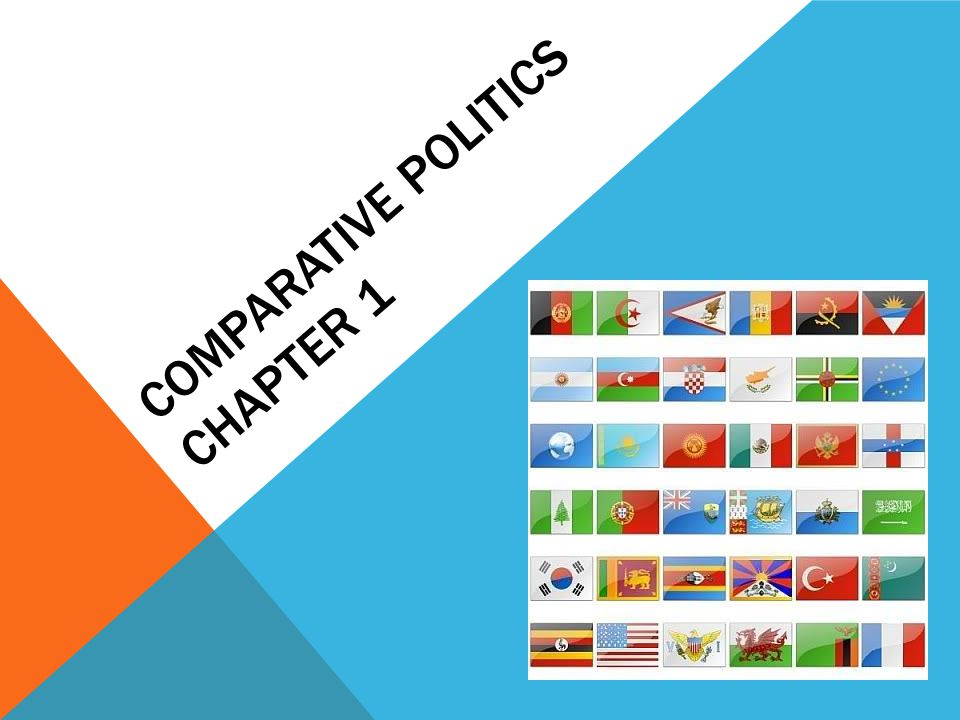 COMPARATIVE POLITICS CHAPTER 1