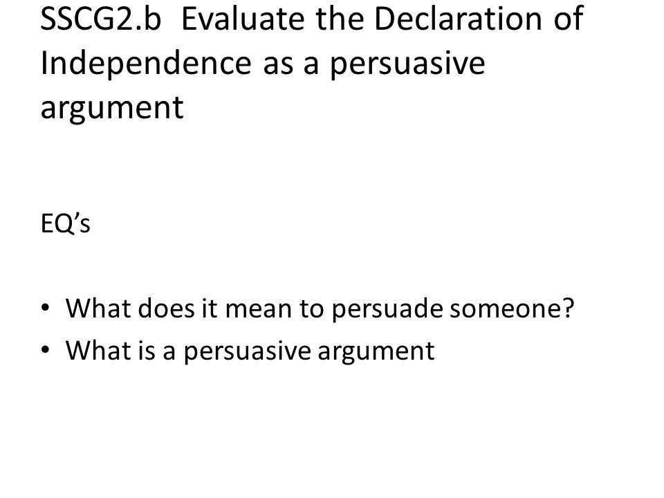 What is a persuasive/argument essay.