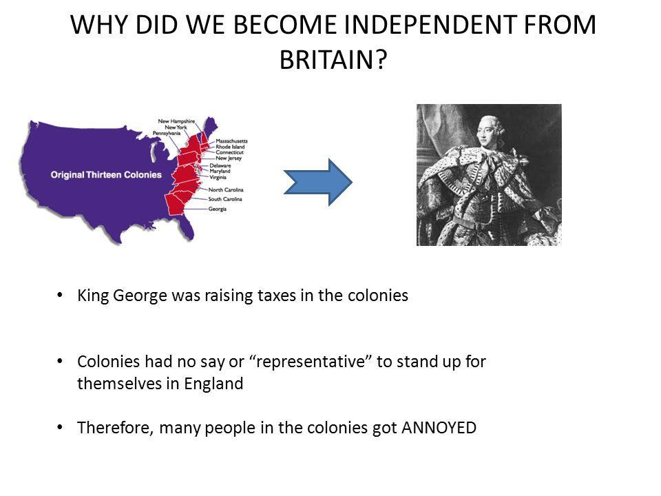 How is the declaration on independence persuasive?