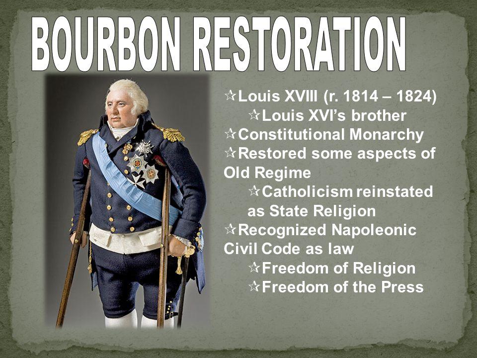Revolutions of 1830 & 1848