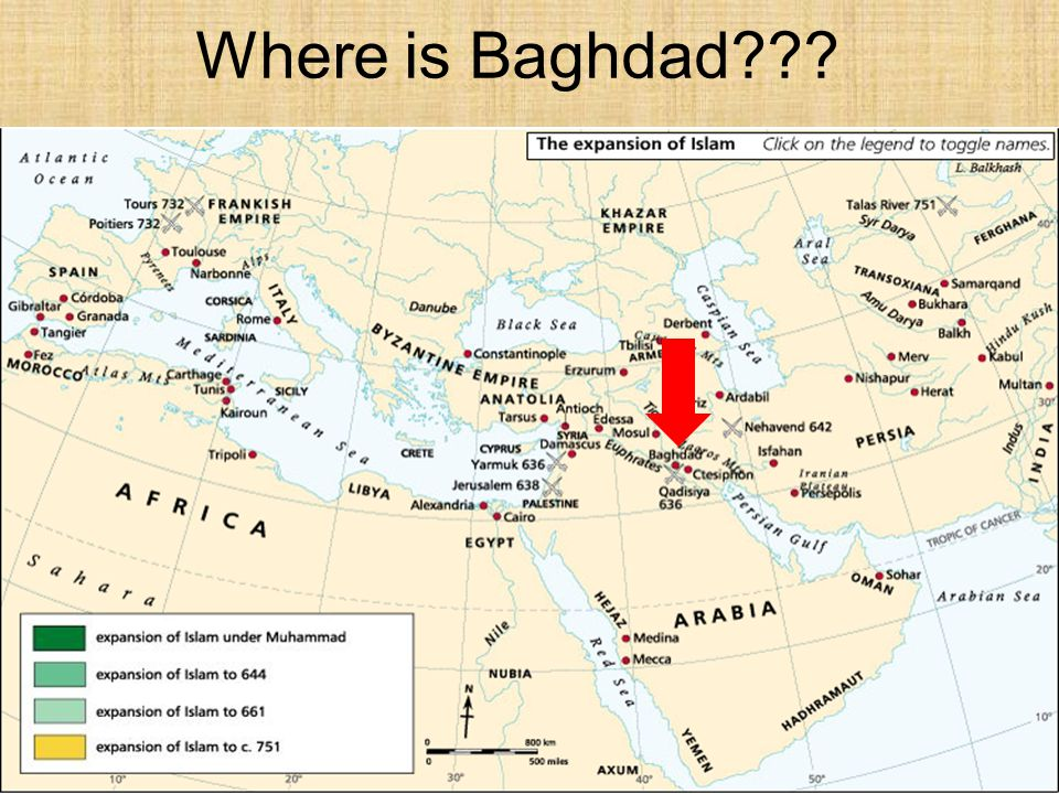 Where is Baghdad???