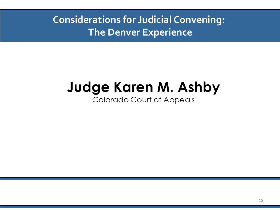 Judge Karen M.